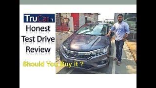 Honda City 2017 Facelift In Depth Test Drive review in हिन्दी |is it better than Verna?|Trucar India