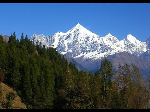 Kasol  - Amazing Nature View /Trekking in Himachal Pradesh./ Himalayas Mountains  in INDIA.