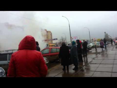 Пожар подземки на остановке 32 комплекс