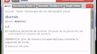 Definición de diuresis