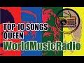 10 лучших треков Queen