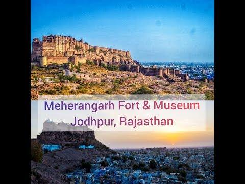 Mehrangarh Fort Jodhpur | मेहरानगढ़ किला | Mehrangarh Fort Tour & History | Indian Vlogger