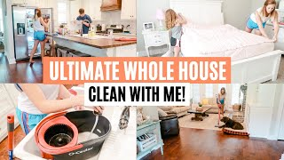 WHOLE HOUSE CLEAN WITH ME 2019 // EXTREME CLEANING MOTIVATION // Amy Darley