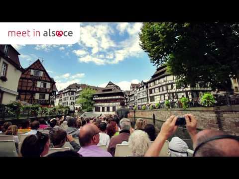 Le Tourisme d'Affaires en Alsace, Mulhouse, Colmar, Strasbourg
