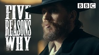 5 reasons why Tom Hardy's a TOP GEEZER as Alfie! | Peaky Blinders - BBC