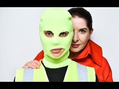 Pussy Riot's Nadya Tolokonnikova and Marina Abramonic
