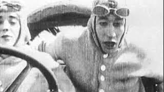 Charlie Chaplin 1914 KS 10 Mabel At The Wheel