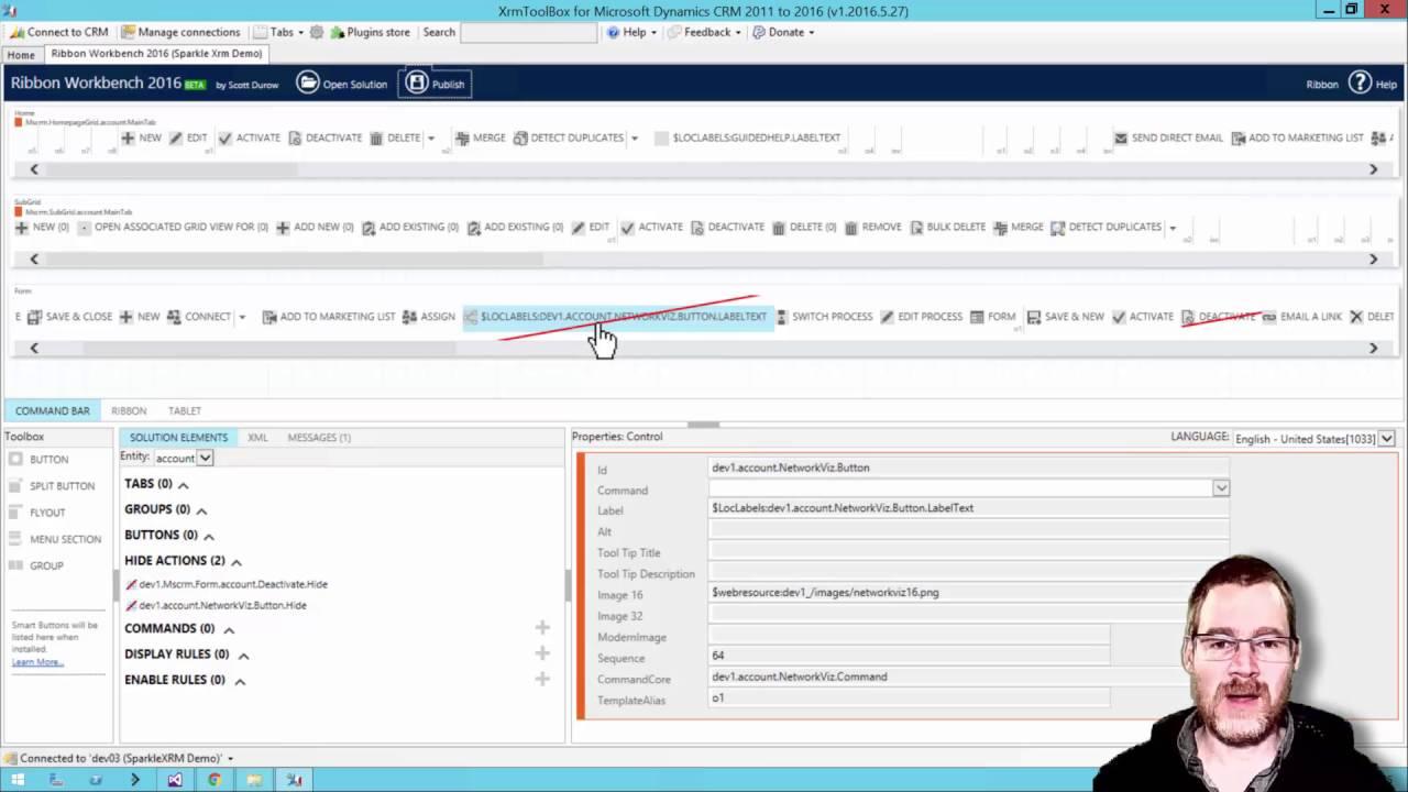 Develop 1 Limited Blog | Mastering Ribbon Workbench 2016