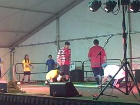 Hip Hop & Modern Tinikling at 50th State Fair 2010