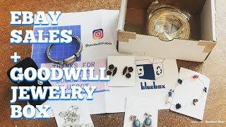Weekly Ebay Sales Vlog Plus Goodwill Bluebox Jewelry Box!