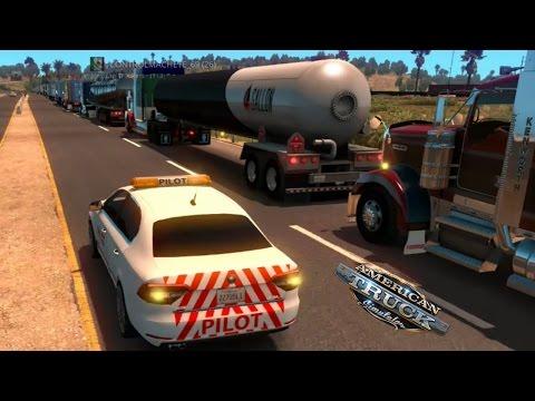 Multiplayer American Truck Simulator | Gran Convoy a San Francisco