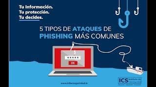 5 Ataques de Phishing más comunes