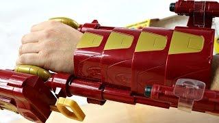 Hasbro - Nerf - Marvel Avengers - Civil War - Rękawica z Wyrzutnią Iron Mana! - B5785 - Recenzja