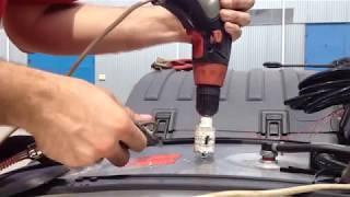 Как просверлить бак? Установка дачика уровня топлива на грузовой автомобиль.