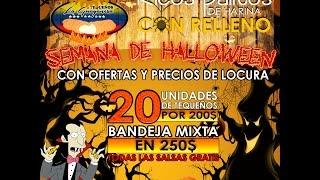 Vídeo promocional de halloween para la gente de Tequeños la guayanesa