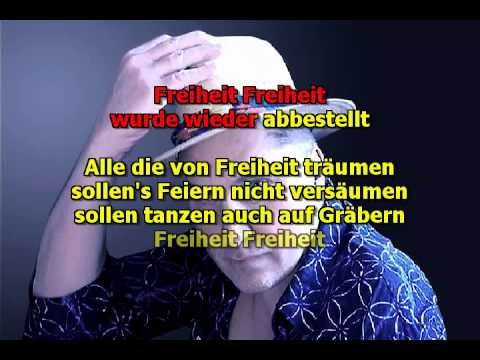 MIKE MALAK & The Fakers     -   Freiheit   (cover mit Text)