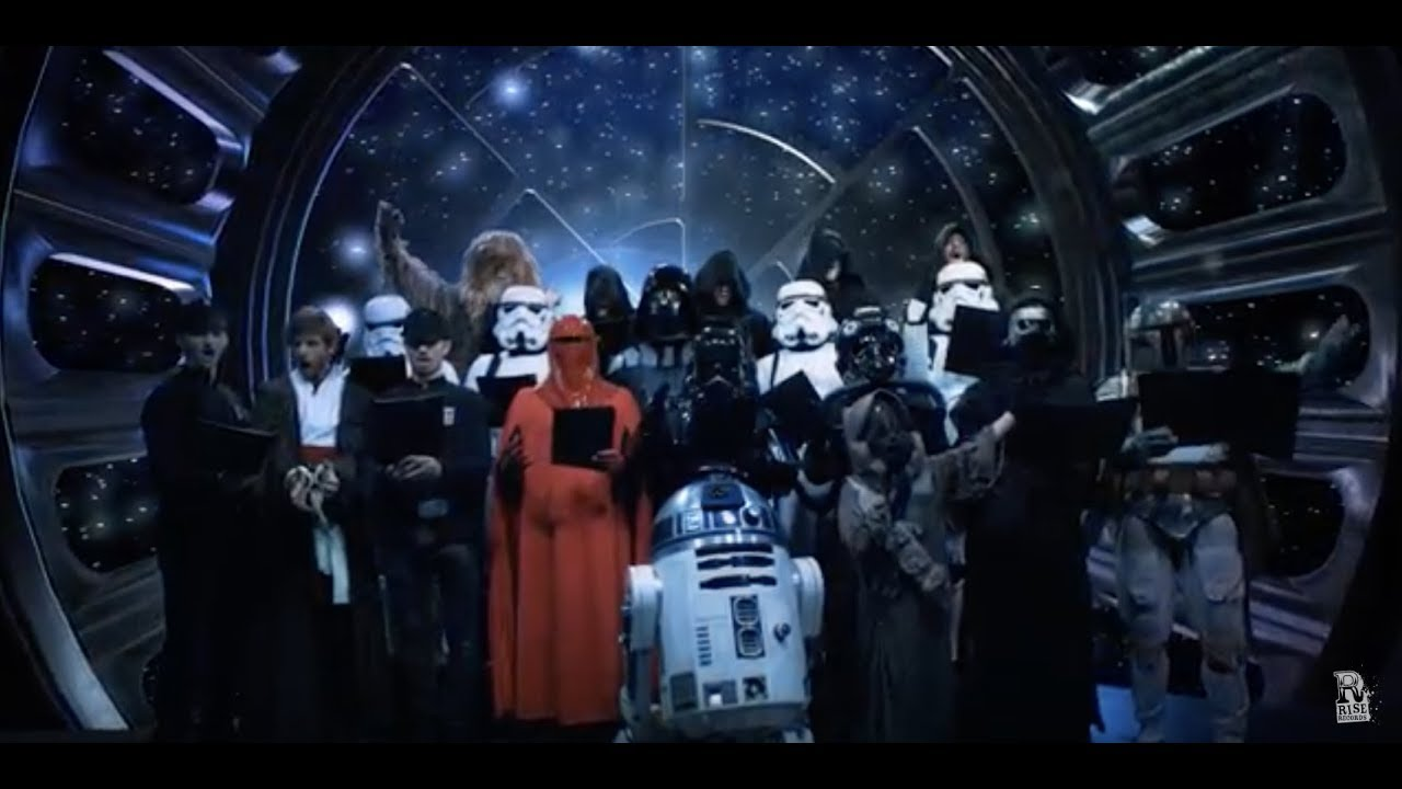 Sci Fi Wallpaper Hd Galactic Empire Duel Of The Fates Official Music Video