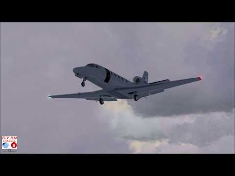 FSX Full flight from Noumea to Brisbane with Cessna Citation XLS Fly Jlm