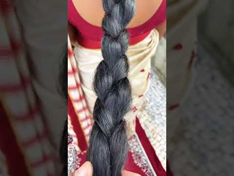 How to: Loose Braid Own Long Hair | DIY Quick & Easy Loose Hair Braid Hairstyle For Every Occasion.