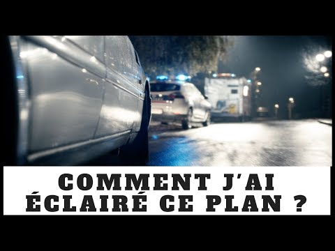"""#12- Comment j'ai éclairé ce plan (séquence) ? - """"Téléfilm Lanester"""""""