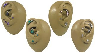 Different Types Of Ear (Cartilage) Piercings - All About Helix, Tragus, Conch And Daith Piercings