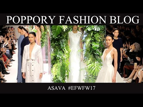 ASAVA  | Elle Fashion Week FW2017 | VDO BY POPPORY