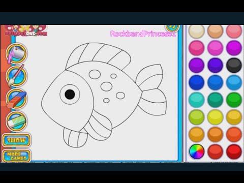 Fish Coloring Games