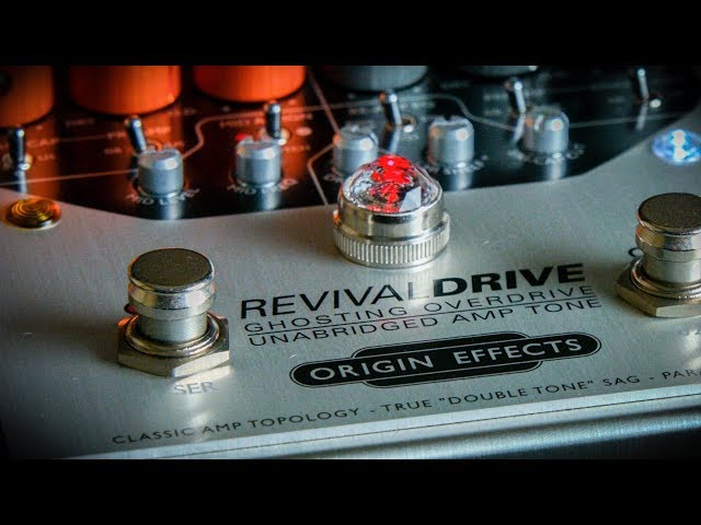 An Odyssey of Guitar Tones: Revival Drive + IRs