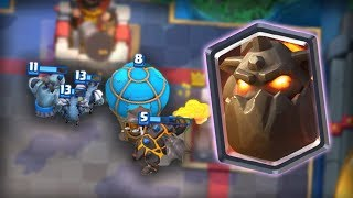 Air cards are insane! Super Solid Deck in Clash Royale