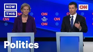 Pete Buttigieg and Elizabeth Warren Get Heated at Dem Debate on Medicare for All | NowThis