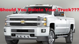 Should You Delete Your Truck?? The Pros and Cons of Deleting!!