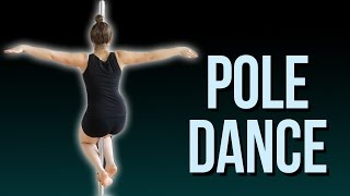Girl learns POLE DANCE IN 3 MONTHS I Choreography