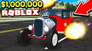 BUYING $1,000,000 HOTROD IN ROBLOX! (ROBLOX VEHICLE SIMULATOR)