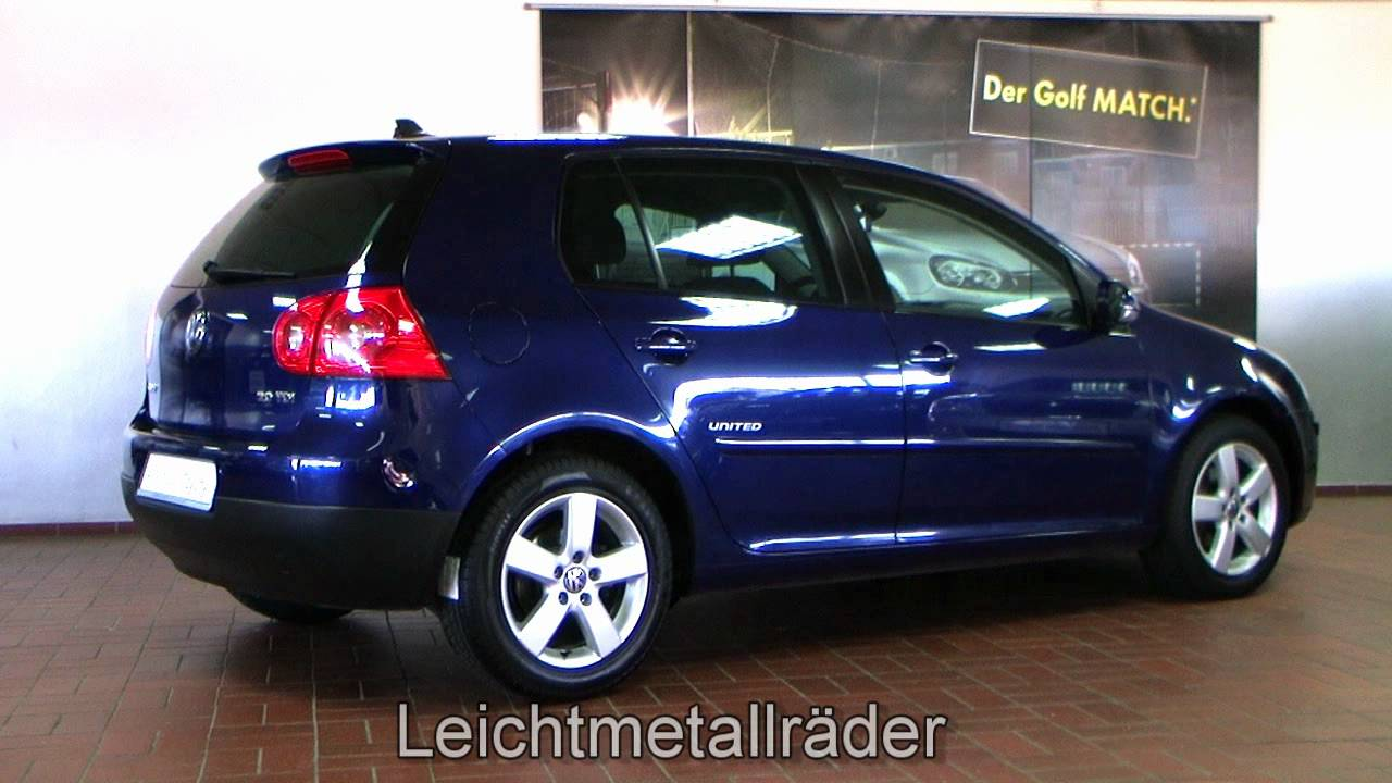 volkswagen golf v 2 0 tdi united 2008 shadow blue metallic 8w155599. Black Bedroom Furniture Sets. Home Design Ideas