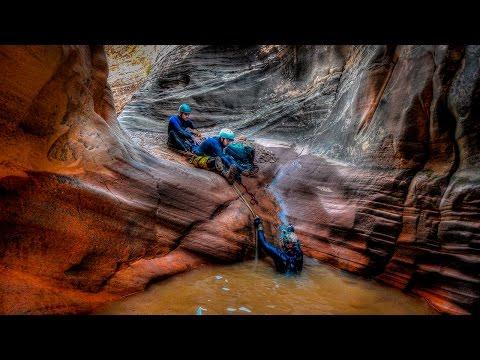 Poe Canyon, AKA Smiling Cricket, Canyoneering Utah
