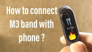 Download How To Connect M3 Smart Bracelet With Dayday Band
