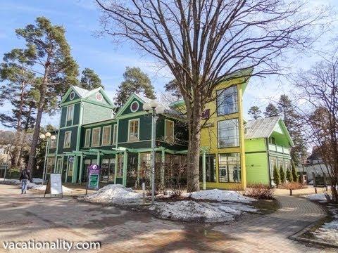 Latvia. Jurmala. Rich Russians Favorite Holiday Spot