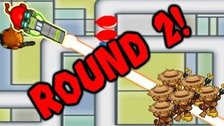 bloons td battles round 2 ray of doom   world record earliest rod