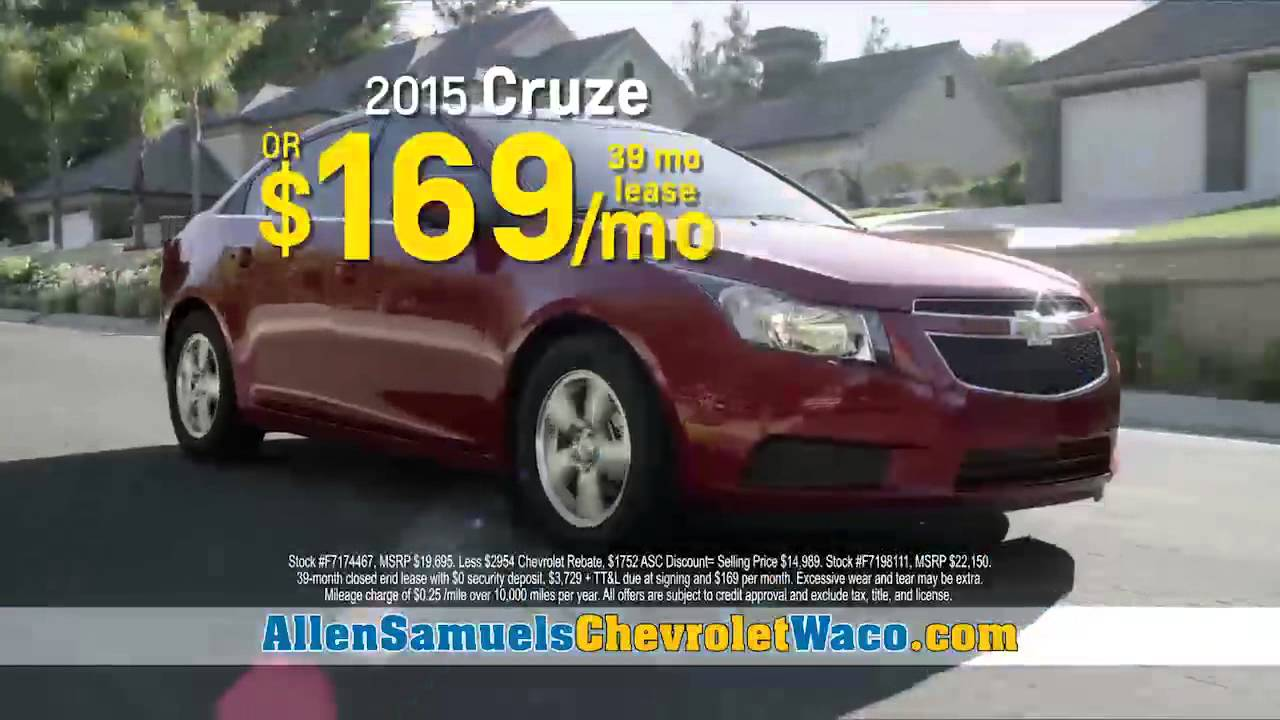 Spring Sale Is Happening Now At Allen Samuels Chevy Waco!