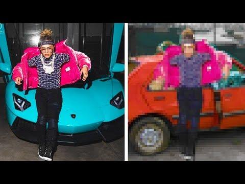 I Made Rappers Look Broke In Photoshop - PART 4 Soulja Boy Tyga Drake