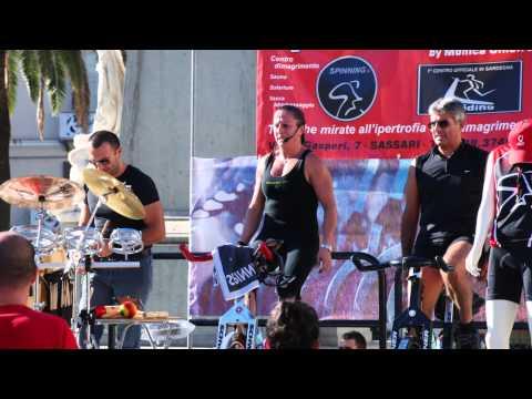 "Palestra Spinning Center di Monica Cinefra - GYM DAY PIAZZA D'ITALIA - SASSARI  2010 "" Foto"""