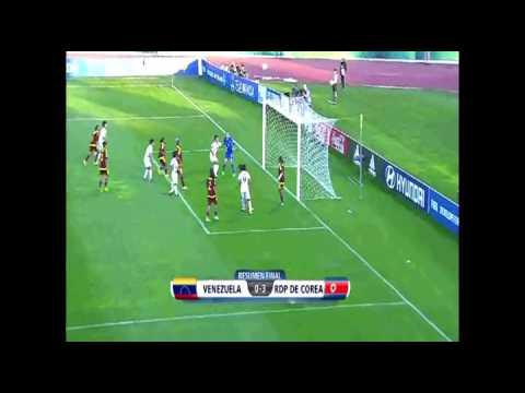 Mundial Femenil Sub-17   Rep de Corea vs Venezuela  (3 -0)