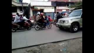 Pasar Cibarusah Kabupaten bekasi Macet Melulu