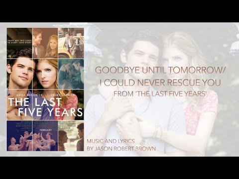 "Goodbye Until Tomorrow (from ""The Last Five Years"") Piano Instrumental Karaoke"