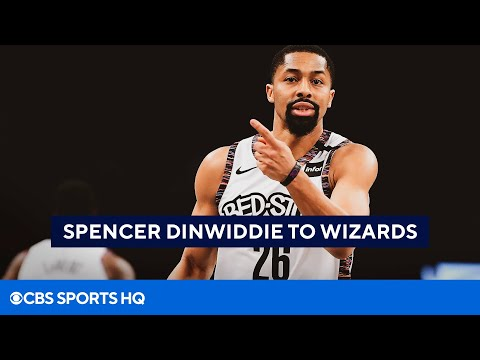 Spencer Dinwiddie to Wizards on 3-year, $62M deal NBA Free Agency  CBS Sports HQ