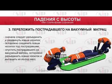 5 НС+Правила оказания первой медицинской помощи при падении с высоты