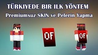BEDAVA Minecraft Premiumsuz Skin ve (Cape) Pelerin Yapmak - TÜRKİYEDE BİR İLK YÖNTEM