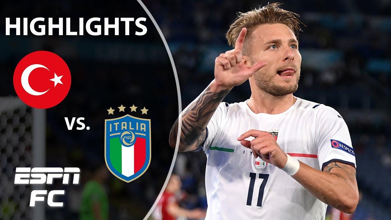 Turkey vs Italy live: Euro 2020 result as Ciro Immobile and Lorenzo ...
