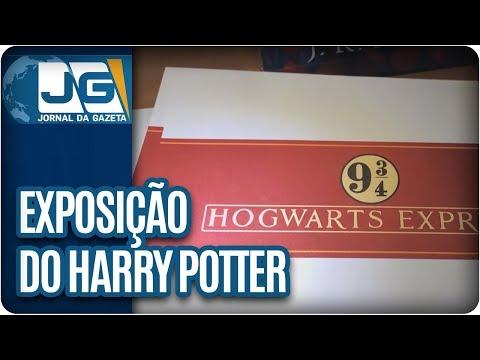 Exposição em SP materializa mundo do bruxo Harry Potter