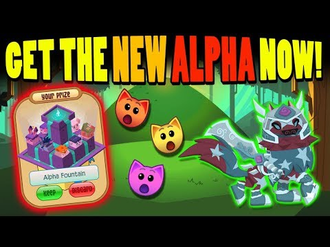 HOW TO GET THE BRAND NEW ALPHA ITEM NOW! ANIMAL JAM
